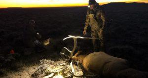 Ike Eastman with Elk